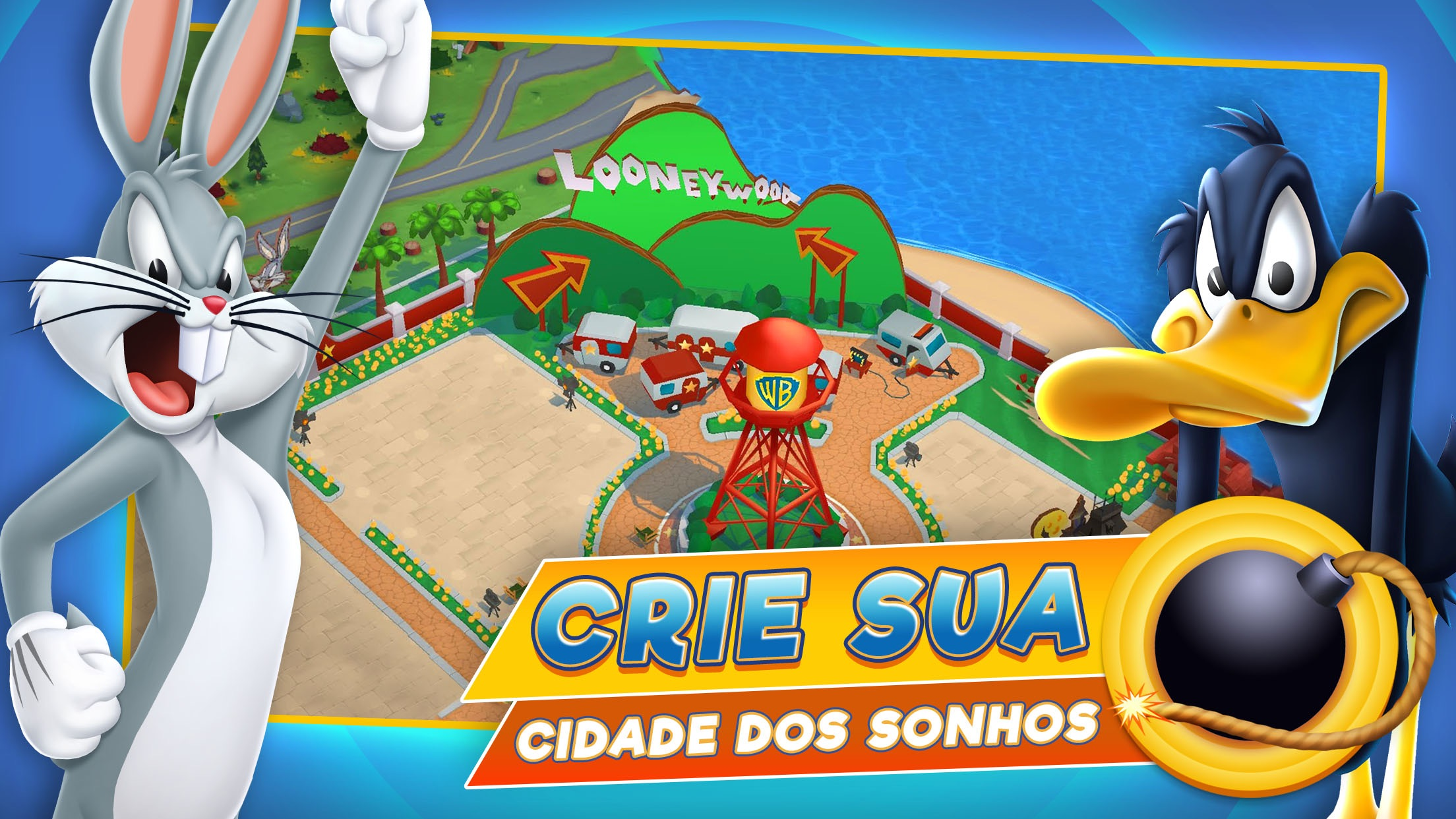 Screenshot do app Looney Tunes™ Mundo Insano