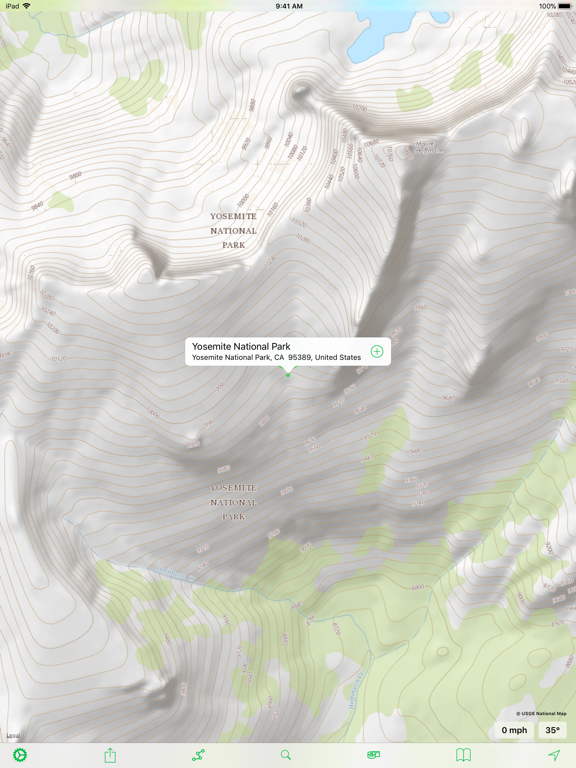 Topo Maps Screenshots