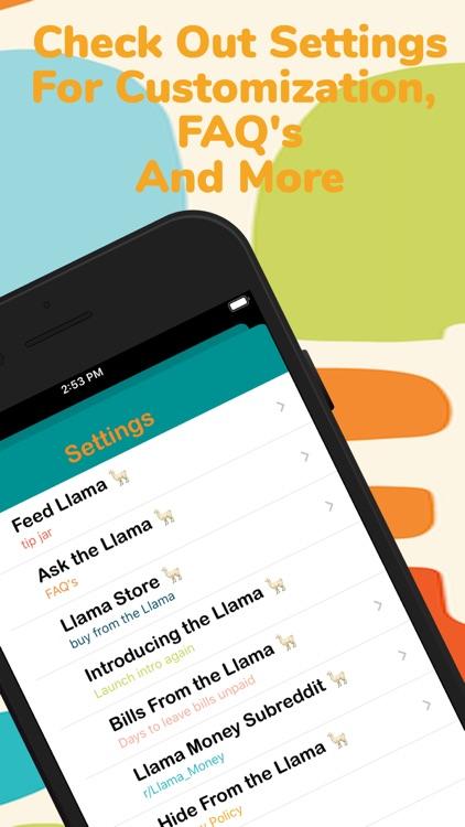 Llama Money screenshot-3