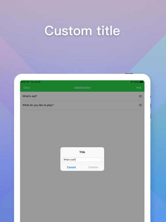 LikeDecision screenshot 8