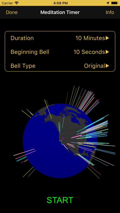 Screenshot #2 pour Mindfulness Bell
