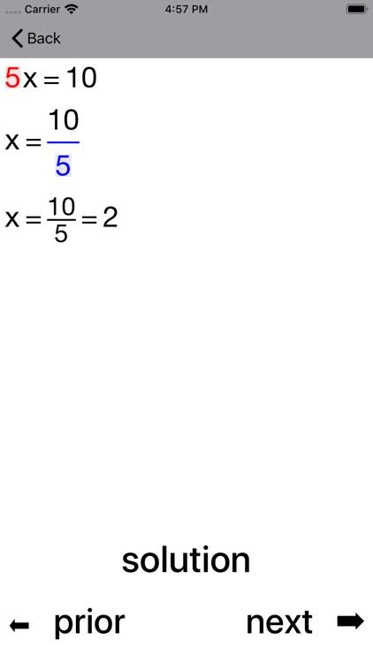 ALinearEqn Linear Equations screenshot-3