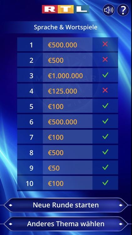 Wer wird Millionär? Training screenshot-6