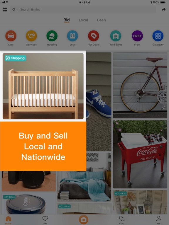 5miles: Buy and Sell, Search Locally screenshot