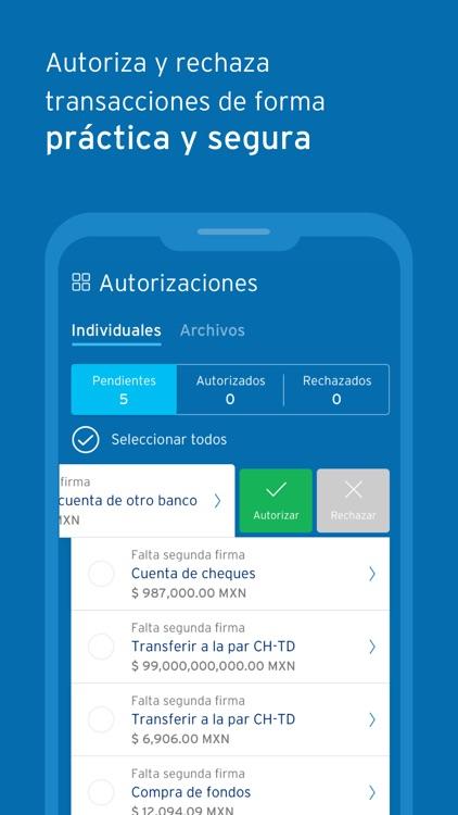 BancaNet Empresarial Móvil screenshot-3