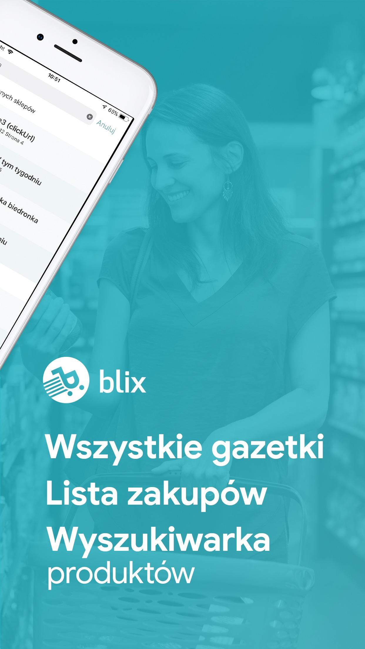 Blix Gazetki Promocje Sklepy Screenshot
