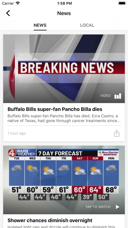 WIVB News 4 - Buffalo screenshot-1