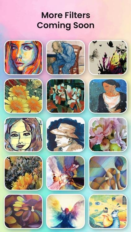 Watercolor Effect Oil Painting screenshot-4