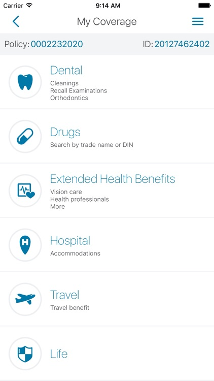 Medavie Blue Cross Mobile screenshot-2