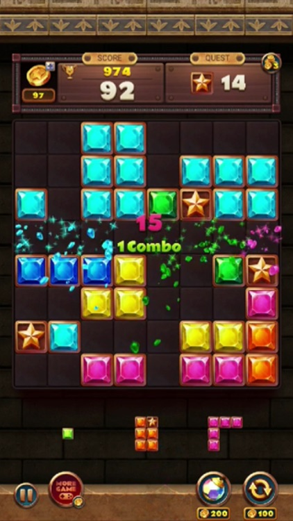 Jewels Block Puzzle Master screenshot-4