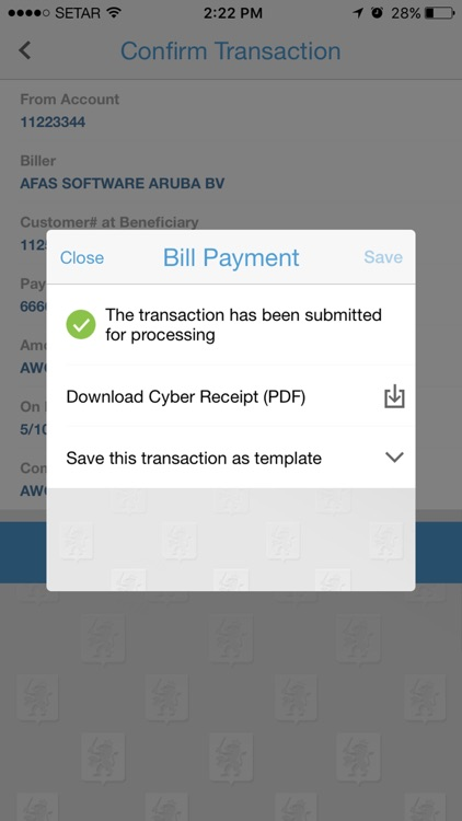 CMB Mobile Banking Aruba screenshot-4