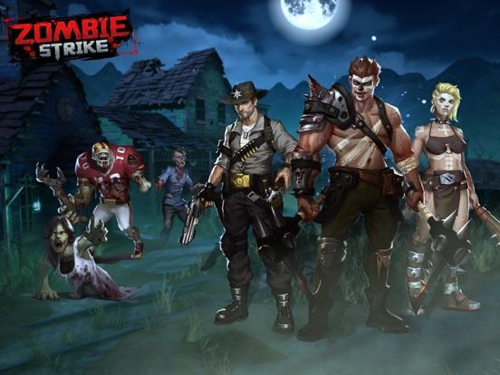 Zombie Strike-Idle Battle SRPG на iPad