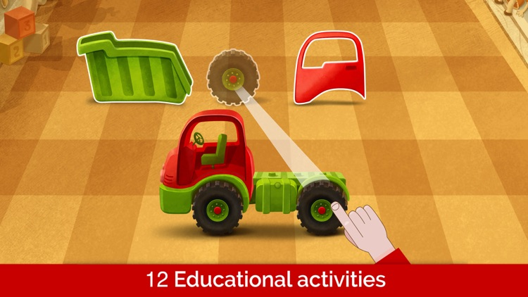 Learning games for toddlers 3+ screenshot-0