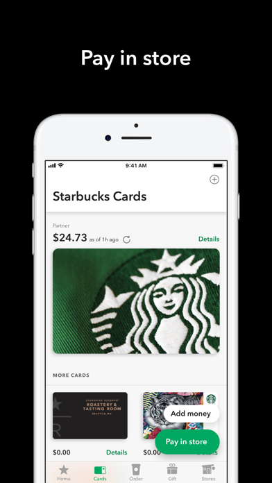 Starbucks Screenshot