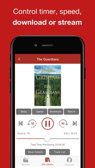 Audiobooks Now Audio Books Screenshot