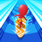 App Icon for Water Race 3D: Aqua Music Game App in Mexico IOS App Store