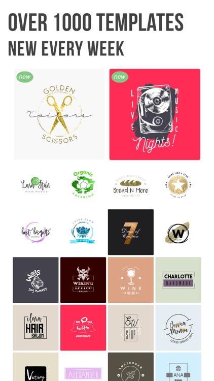 Logo Maker | Vintage Logo screenshot-7