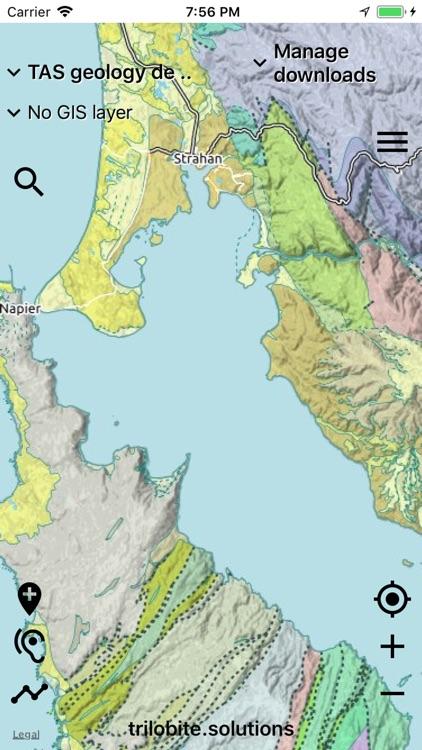 Australian Geology Travel Maps