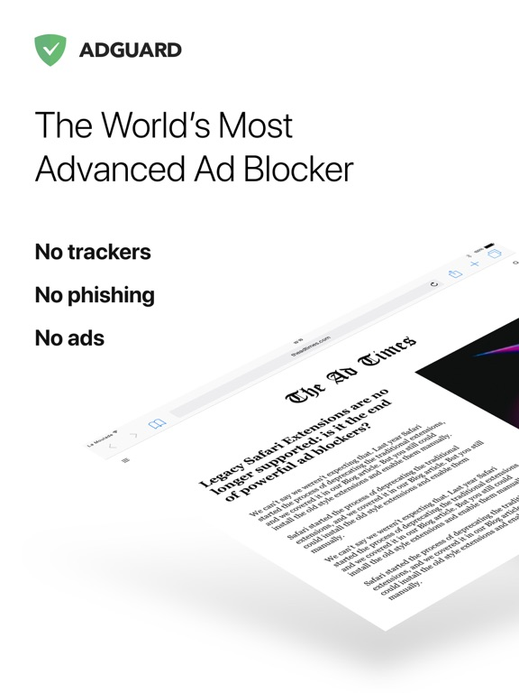 Adguard - Adblock and Privacy Protection for the Web screenshot