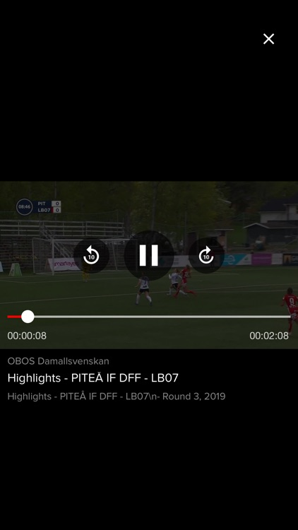 OBOS Damallsvenskan.TV