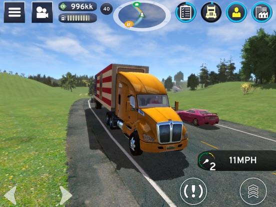 Truck Simulation 19 ipad ekran görüntüleri