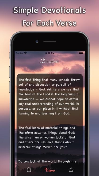 Daily Bible Inspirations Verse screenshot-3