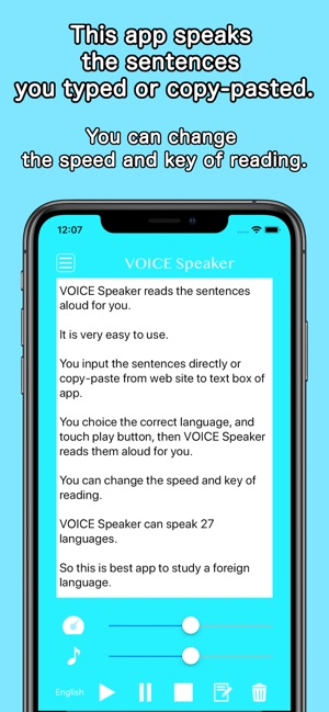 VOICE Speaker on the App Store