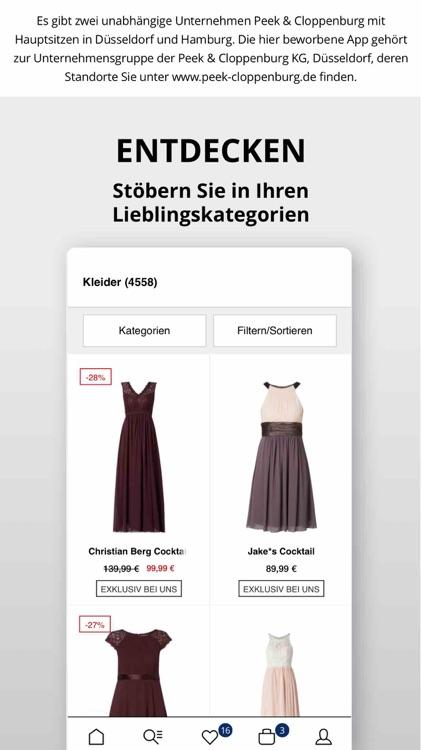 Peek&Cloppenburg* Fashion Shop screenshot-3