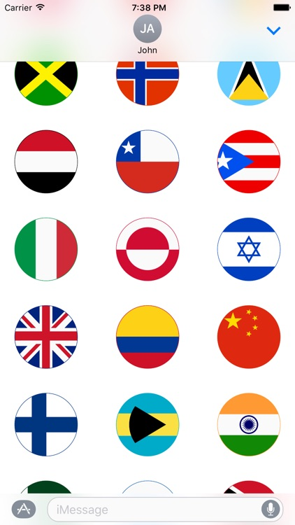 World Stickers for iMessage screenshot-3