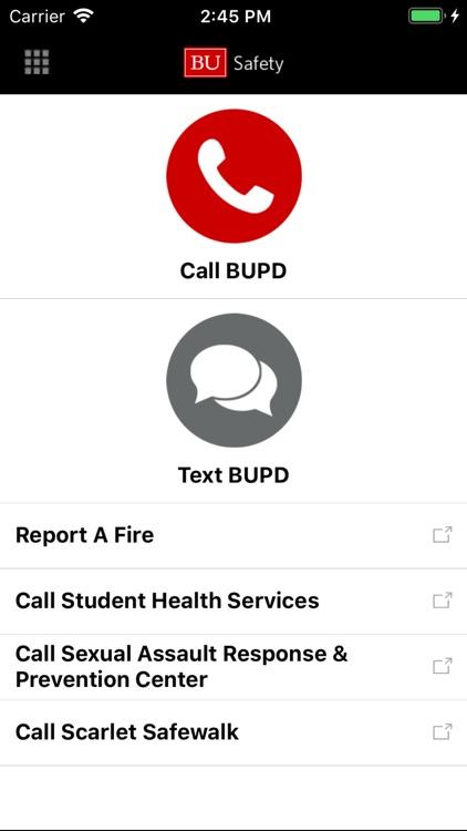 BU Mobile screenshot-3