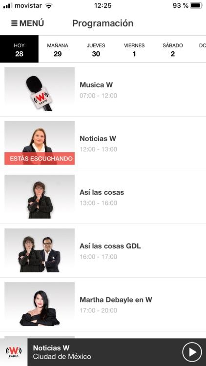 WRadio México para iPhone screenshot-4