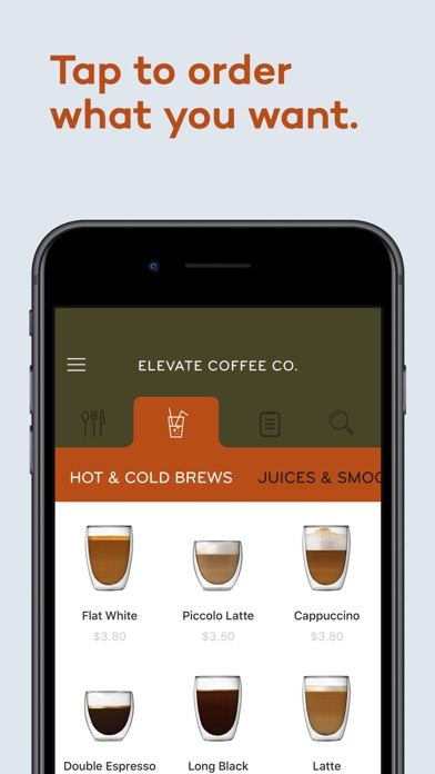 Elevate Coffee: Order & PayScreenshot of 3