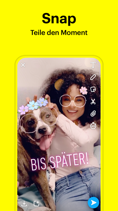 Screenshot for Snapchat in Austria App Store