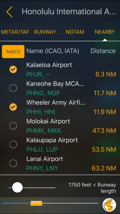 Aviation Weather Route Planner screenshot-4