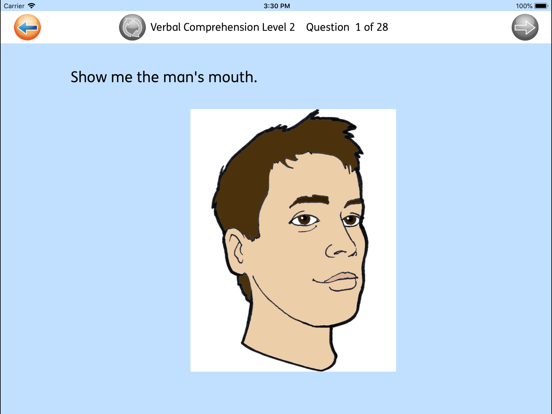Verbal Comprehension screenshot two