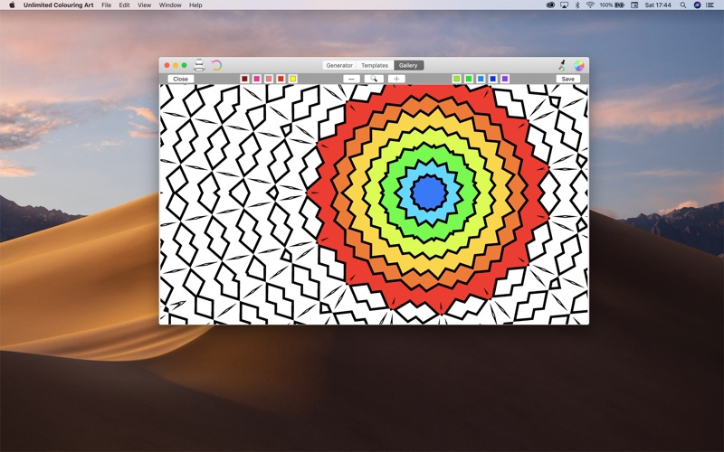 Unlimited Coloring Art for Mac