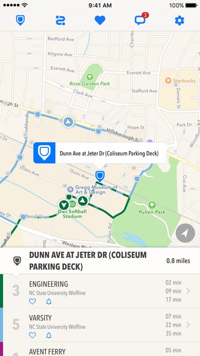 Screenshot for TransLoc Rider in Ireland App Store