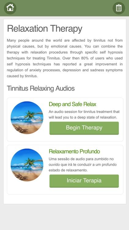 Tinnitus Therapy screenshot-8