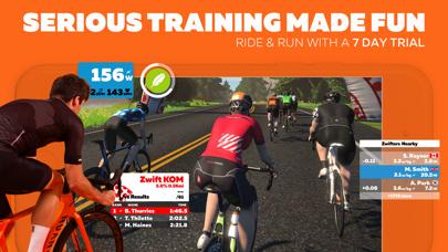 Screenshot #1 pour Zwift: Ride and Run