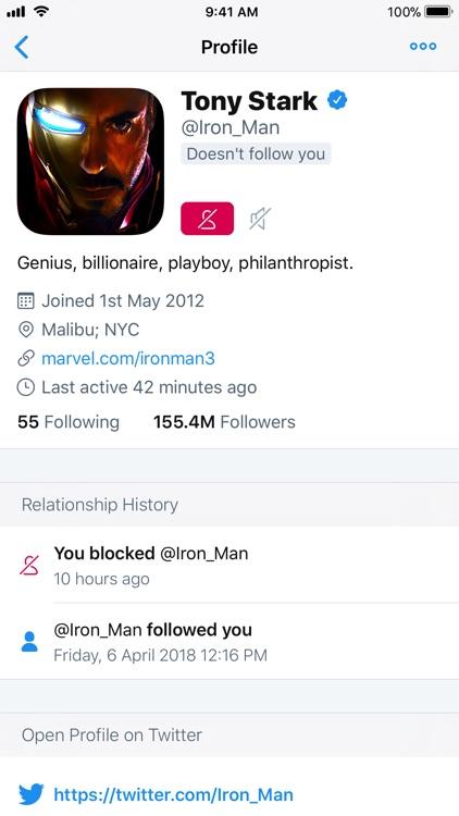 Who Unfollowed Me on Twitter screenshot-7