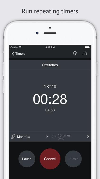 Timer+ screenshot-4
