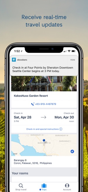 ebookers Hotels & Flights on the App Store
