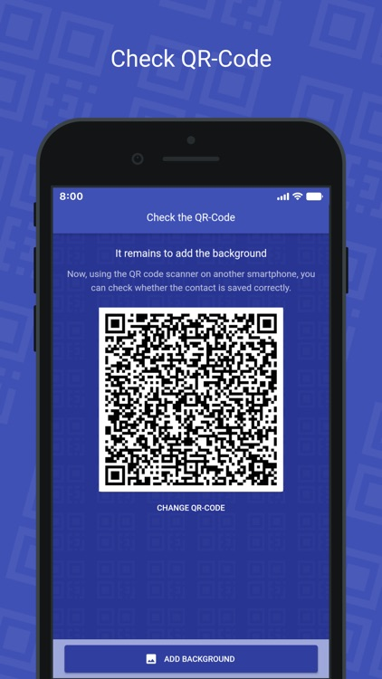 QR Card - business card screenshot-4