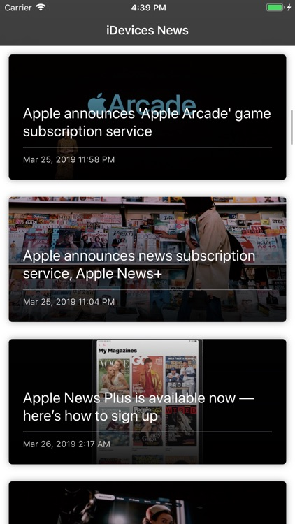 iDevices News