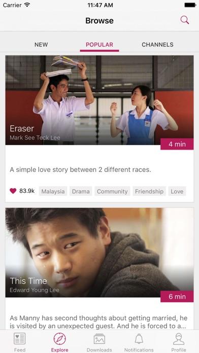 Viddsee - Watch Short Movies screenshot three