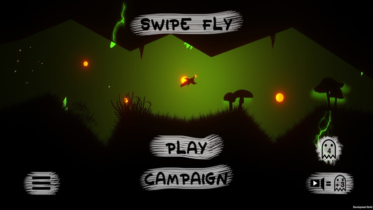 Swipe Fly - Survive the cave