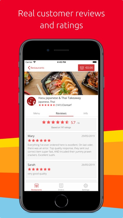 Just Eat - Food Delivery screenshot-3