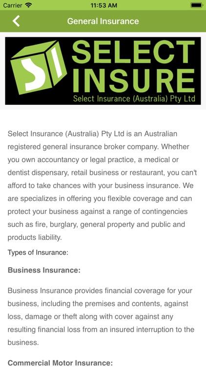 Select Insure screenshot-3