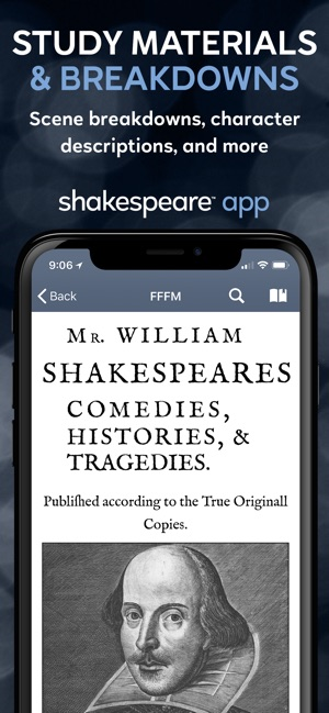 Shakespeare Screenshot