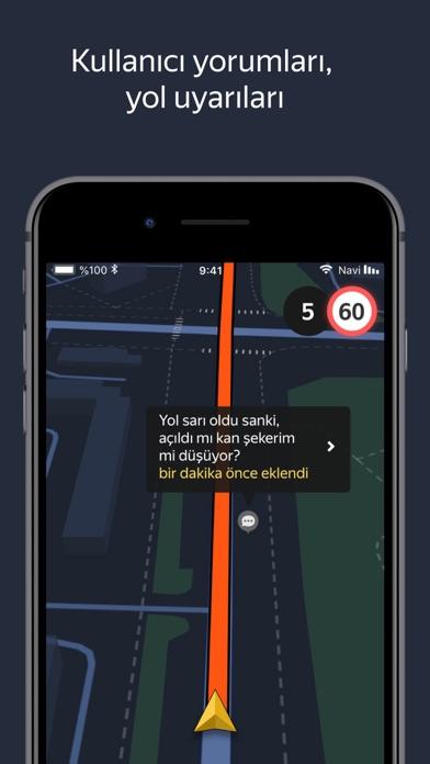 Yandex Navigasyon – Trafik iphone ekran görüntüleri